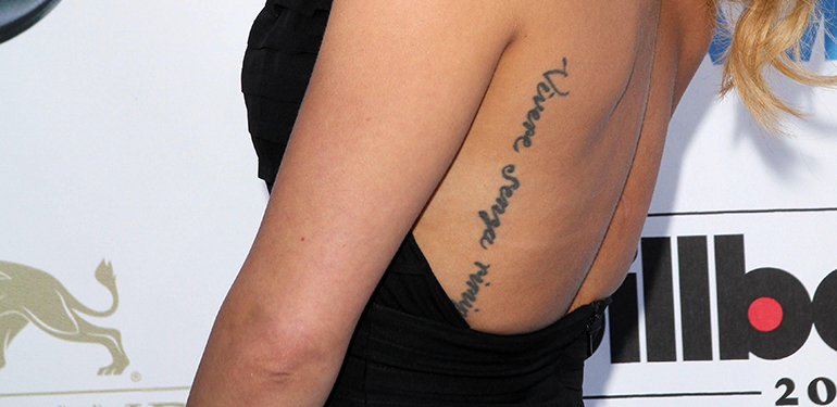10 Worst Celebrity Tattoo Ideas - Page 8 of 10 - Discover Fame